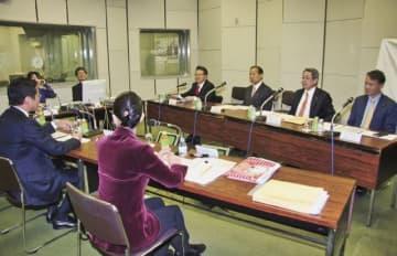 和歌山の活性化などを話し合う国会議員座談会(和歌山市で)