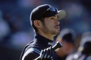 2001年にマリナーズに移籍したイチロー氏【写真:Getty Images】