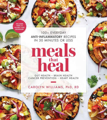 """Cover of """"Meals That HealâEUR by Carolyn Williams. - Amazon/Amazon/TNS"""
