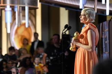 Michelle Williams Golden Globe Award ©HFPA