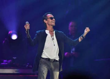 ATLANTA, GEORGIA - OCTOBER 25: Marc Anthony performs onstage during his