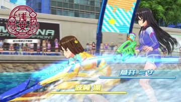 PS4『神田川JET GIRLS』ガールズジェットバトルの幕開けを飾るプロローグ映像公開!レース開幕はいよいよ来週16日から
