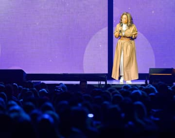 Oprah is seen at Oprah's 2020 Vision: Your Life in Focus Tour at the BB& T Center in Sunrise on Saturday, Jan. 4, 2020. - Jennifer Lett/Sun Sentinel/TNS