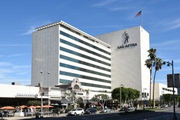 The SAG-AFTRA building in Los Angeles. - Dreamstime/Dreamstime/TNS