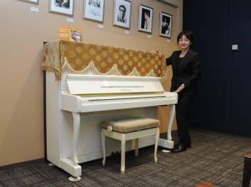 船村さんが愛用していたピアノ