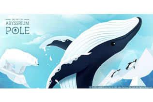 タップするたびに癒される?『アビスリウムポール』配信開始─全世界5,000万DLを突破した水族館アプリの続編