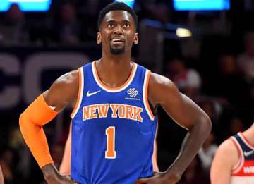 Bobby Portis #1 of New York Knicks