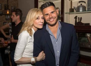 AUSTIN, TX - JUNE 11: Judith Light and Silvio Horta attend the Ugly Betty Reunion After Party
