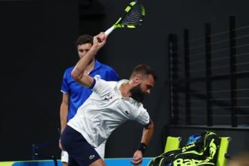 写真は「ATPカップ」でのペール
