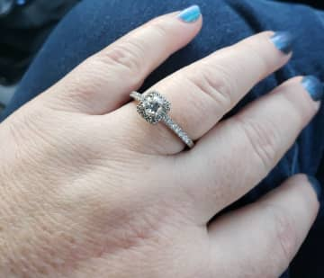 Eric Thiel's fiance lost this engagement ring at a Planet Fitness gym in Toms River. The couple are asking for the public's help in locating it. (Avalon Zoppo/)