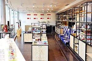 テロワージュふくしまの展示会が開かれるパリ日本文化会館内の店舗