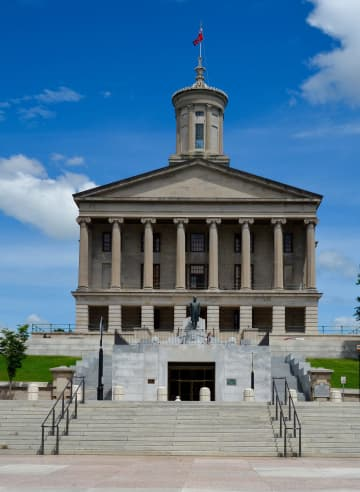 The Tennessee State Capitol in Nashville, Tenn., in May 2015. - Jim Roberts/Dreamstime/TNS