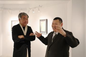 日本在住28年の中国画家、私設美術館が銀座にオープン