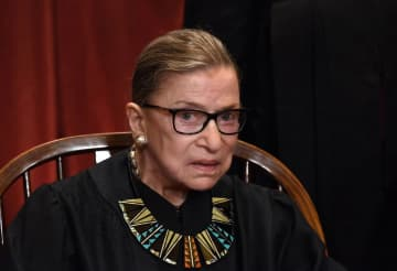 Supreme Court Justice Ruth Bader Ginsburg says she is now free of cancer. - OLIVIER DOULIERY/Abaca Press/TNS