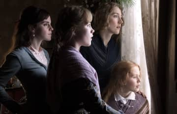 "The March sisters of ""Little Women,"" played by, from left, Emma Watson, Florence Pugh, Saoirse Ronan and Eliza Scanlen. - Wilson Webb/Columbia Pictures/TNS"
