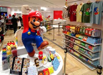 内覧会が行われた任天堂の国内初直営店「Nintendo TOKYO」(東京・渋谷の渋谷パルコ)