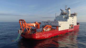 中国南極科学観測隊、コスモノート海の総合観測を完了