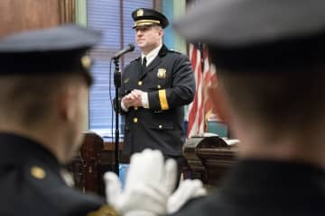 Hoboken Police Chief Ken Ferrante. (Reena Rose Sibayan | The Jersey Journal/)