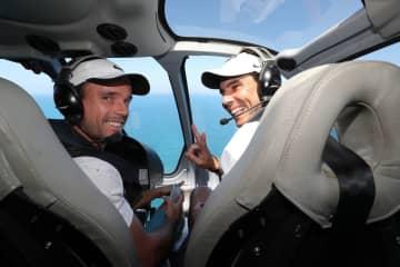 写真はバウティスタ アグート(左)とナダル(右)