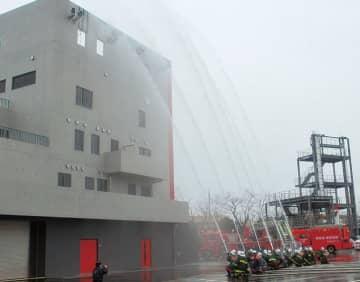 1月11日に宮前区消防出初式~今年は消防車両の分列行進予定~@川崎市消防訓練センター