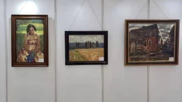 「氷の都」でソ連時代の油絵作品を展示する展覧会開催 黒竜江省