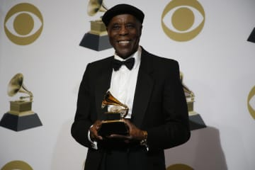 Buddy Guy backstage during the 61st Grammy Awards at Staples Center in Los Angeles on Sunday, Feb. 10, 2019. - Taylor Arthur/Los Angeles Times/TNS