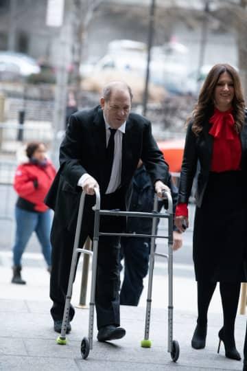 Harvey Weinstein arrives in State Supreme Court Friday, Jan. 10, 2020 in Manhattan, N.Y. - Barry Williams/New York Daily News/TNS