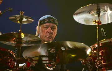 Neil Peart of Rush performs at the Scottrade in St. Louis, Missouri on Sept. 22, 2012. - Zia Nizami/Belleville News-Democrat/TNS