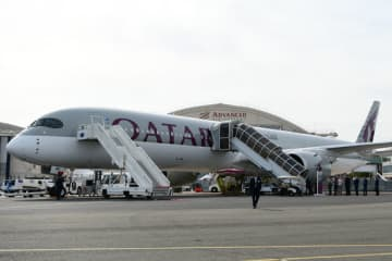 カタール航空、エアバスA350-1000型機3機を受領 画像