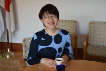 フィンランド大使館広報部の堀内都喜子さん