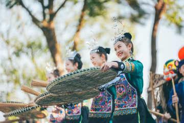 春節の農村芸能イベント「郷村春晩」が始動