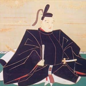 柳沢吉保が祖先が建立した一蓮寺に奉納する為に狩野常信に命じて描かせた肖像画