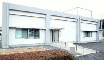 県産業科学技術センター先端技術イノベーションラボ内の電磁環境測定棟=大分市高江西