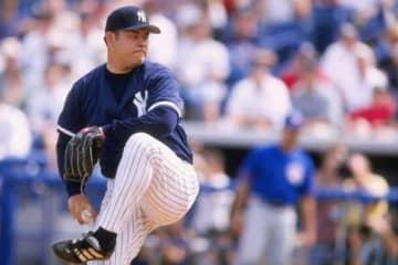 かつてヤンキースでプレーしていた伊良部秀輝氏【写真:Getty Images】