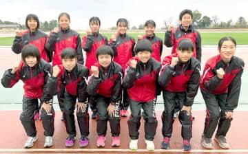 福井県女子選抜=滋賀県東近江市の布引運動公園陸上競技場