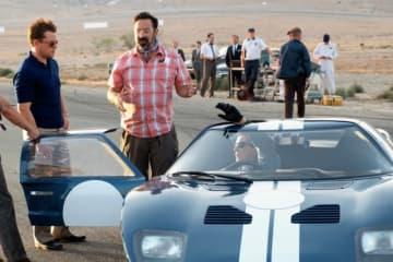 本物のレーシングカーを使って撮影! - (c)2019 Twentieth Century Fox Film Corporation