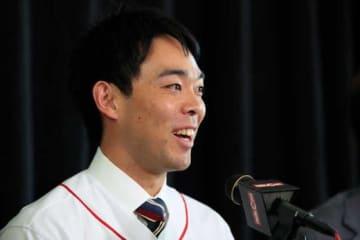 レッズ・秋山翔吾【写真:Getty Images】
