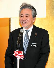 地域住民の健康生活を守るため、歯科保健医療の充実など決意を示す仲川会長