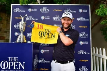 優勝を飾るとともに全英オープンの出場権も獲得したブランデン・グレイス(撮影:GettyImages)