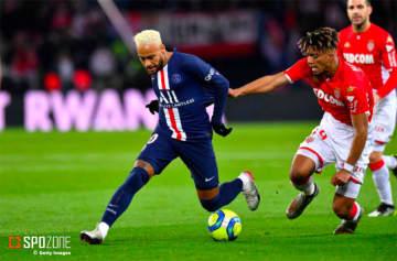 PSGが打ち合いの末モナコとドロー