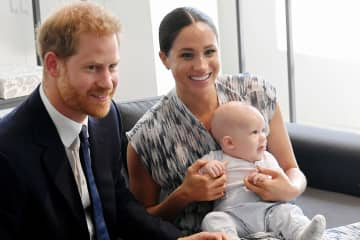 Prince Harry, Duke of Sussex, Meghan, Duchess of Sussex and their baby son Archie Mountbatten-Windsor may be striking out on their own, but don't count on your adult children doing the same. - Toby Melville/Getty Images Europe/TNS