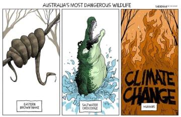 Australia is terrifying. (Drew Sheneman/)