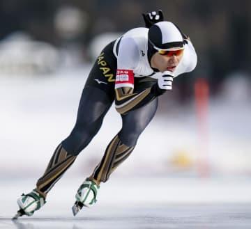 冬季ユース五輪のスピードスケート男子1500メートルで金メダルを獲得した蟻戸一永(OIS提供・共同)