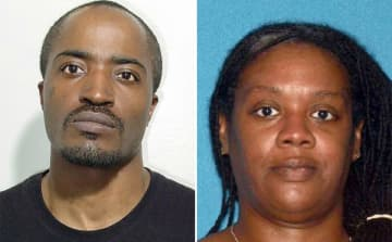 David Anderson, 47, and Francine Graham, 50. (Anderson photo via AP, Graham photo via New Jersey Attorney General's Office/)