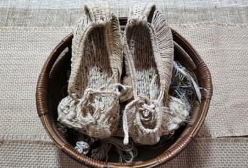 足元を飾る芸術品「天谷麻鞋」 甘粛省天水市甘谷県