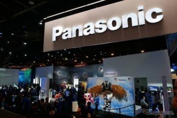 パナソニックは今年もLVCC(ラスベガスコンベンションセンター)のセントラルホールに大規模出展した