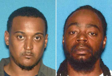 Darnell Williams, 35, of Manchester and Tony Olden, 33, of Lakewood (Ocean County Prosecutor's Office/)