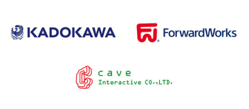 KADOKAWA×ForwardWorksのスマホ向け新プロジェクト始動!開発を担うのはシューティングの老舗・ケイブ