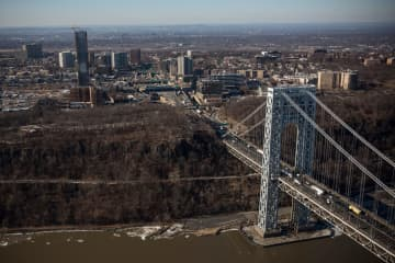 The New Jersey side of the George Washington Bridge, which connects Fort Lee, N.J., and New York City, is seen on Jan. 9, 2014 in Fort Lee, N.J. - Andrew Burton/Getty Images North America/TNS