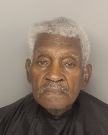 Gilbert Paul Ware, 86, entered a Greenville, SC, bank, showed a gun and demanded money, says the Greenville Police Department. - GREENVILLE POLICE DEPARTMENT PHO/TNS/TNS